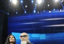 Pamela Prati e Roberto D'Agostino a Non è l'Arena