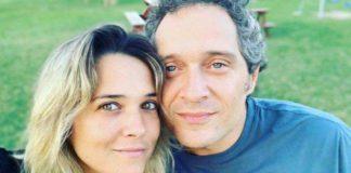 Francesca Barra e Claudio Santamaria a Vita in Diretta