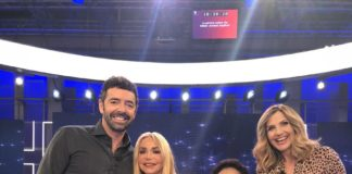 Lorella Cuccarini e Alberto Matano