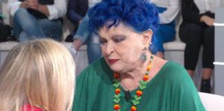 Lucia Bosè piange a Domenica In