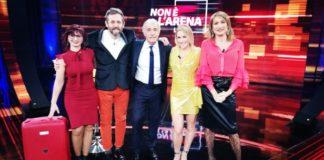 Massimo Giletti a Non è l'Arena